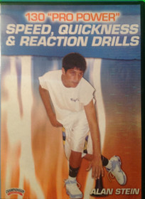 130 Pro Power Speed,  Quickness, & Reaction Drills by Alan Stein Instructional Basketball Coaching Video