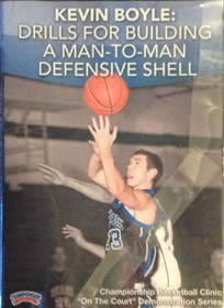 Drills For Building A Man--to--man Defensive by Kevin Boyle Instructional Basketball Coaching Video