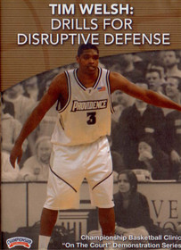 Drills For Disruptive Defense by Tim Welsh Instructional Basketball Coaching Video