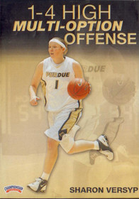 1--4 High Multi Option Offense (versyp) by Sharon Versyp Instructional Basketball Coaching Video