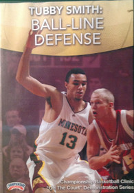 Ball Line Defense by Tubby Smith Instructional Basketball Coaching Video