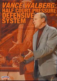 Half Court Defensive Pressure System by Vance Walberg Instructional Basketball Coaching Video