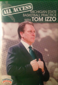 All Access: Tom Izzo Disc 3 by Tom Izzo Instructional Basketball Coaching Video