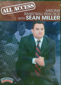 All Access: Sean Miller Disc 1 by Sean Miller Instructional Basketball Coaching Video