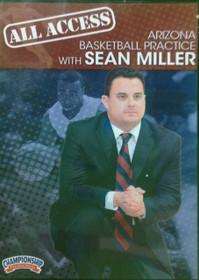 All Access: Sean Miller Disc 2 by Sean Miller Instructional Basketball Coaching Video