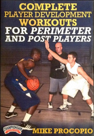 Complete Player Development Workouts For Perimeter And Post Players by Mike Procopio Instructional Basketball Coaching Video
