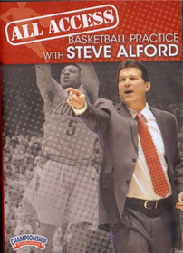 All Access: Steve Alford Basketball Practice by Steve Alford Instructional Basketball Coaching Video