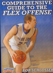 Comprehensive Guide To The Flex Offense by Robert Schlosser Instructional Basketball Coaching Video