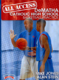 All Access: Dematha Disc 1 by Alan Stein Instructional Basketball Coaching Video