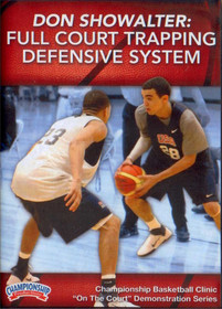 Full Court Trapping Defensive System by Don Showalter Instructional Basketball Coaching Video