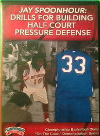 Drills For Building Half Court Pressure Defense by Jay Spoonhour Instructional Basketball Coaching Video