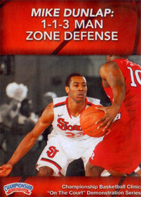 1--1--3 Man Zone Defense by Mike Dunlap Instructional Basketball Coaching Video