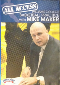All Access: Mike Maker by Mike Maker Instructional Basketball Coaching Video