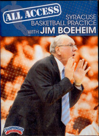 All Access: Jim Boeheim Disc 2 by Jim Boeheim Instructional Basketball Coaching Video