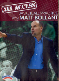 All Access: Matt Bollant by Matt Bollant Instructional Basketball Coaching Video