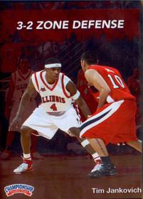 3-2 Zone Defense by Tim Jankovich Instructional Basketball Coaching Video