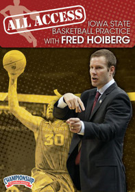All Access: Fred Hoiberg Disc 1 by Fred Hoiberg Instructional Basketball Coaching Video