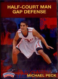 Half Court Man Gap Defense by Michael Peck Instructional Basketball Coaching Video