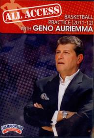 All Access: Geno Auriemma (2011-12) by Geno Auriemma Instructional Basketball Coaching Video