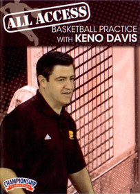All Access: Keno Davis by Keno Davis Instructional Basketball Coaching Video