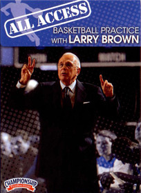 All Access: Larry Brown by Larry Brown Instructional Basketball Coaching Video
