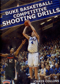 Duke Basketball: Competitive Shooting Drills by Christopher Collins Instructional Basketball Coaching Video