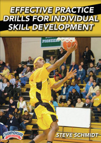 Effective Practice Drills For Skill Development by Steve Schmidt Instructional Basketball Coaching Video