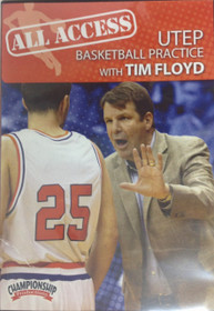 All Access: Utep Tim Floyd by Tim Floyd Instructional Basketball Coaching Video
