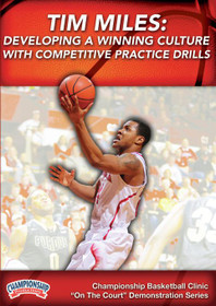 Developing A Winning Culture W/ Competitive Drills by Tim Miles Instructional Basketball Coaching Video