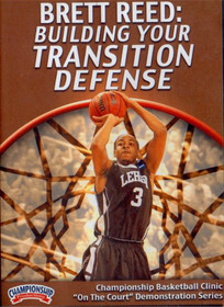 Building Your  Transition Defense by Brett Reed Instructional Basketball Coaching Video