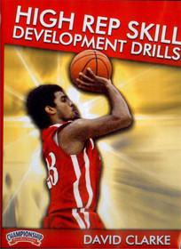 High Rep Skill Development Drills by Dave Clarke Instructional Basketball Coaching Video
