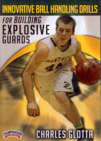 Innovative Ball Handling Drills For Building Explosive Guards by Charles Glotta Instructional Basketball Coaching Video
