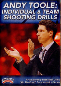 Individual & Team Shooting Drills by Andy Toole Instructional Basketball Coaching Video