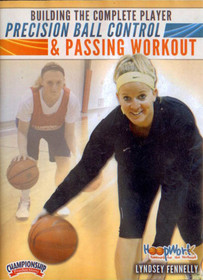 Precision Ball Control & Passing Workout by Lyndsey Fennelly Instructional Basketball Coaching Video
