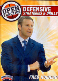 Fred Hoiberg Open Practice: Defensive Strategies & Drills by Fred Hoiberg Instructional Basketball Coaching Video