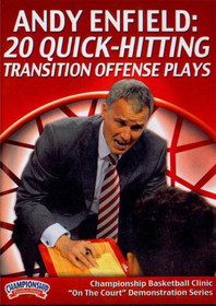 20 Quick-hitting Transition Offense Plays by Andy Enfield Instructional Basketball Coaching Video
