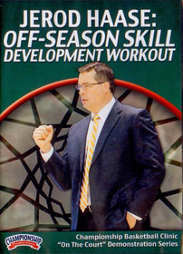 Off-season Skill Development Workout by Jerod Haase Instructional Basketball Coaching Video