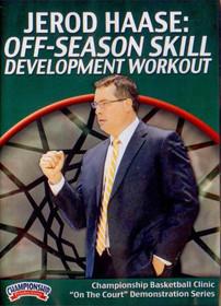 Off-season Skill Development Workout by Jerod Haase Instructional Basketball Coaching Video