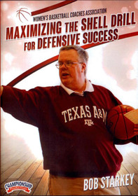 Maximizing The Shell Drill For Defensive Success by Bob Starkey Instructional Basketball Coaching Video
