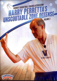 Harry Perretta's Unscoutable Zone Offense by Harry Perretta Instructional Basketball Coaching Video