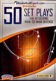 50 Set Plays For Attacking Man To Man Defense by Mike Krzyzewski Instructional Basketball Coaching Video