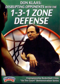 Disrupting Opponents With The 1-3-1 Zone Defense by Don Klaas Instructional Basketball Coaching Video