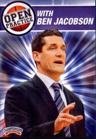 Open Practice With Ben Jacobson by Ben Jacobson Instructional Basketball Coaching Video