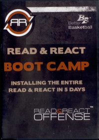 Read & React Offense Boot Camp Dvd by Rick Torbett Instructional Basketball Coaching Video