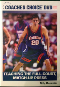 Teaching Full Court Match Up Press by Billy Donovan Instructional Basketball Coaching Video