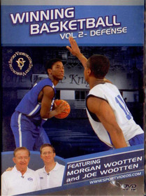 Winning Basketball: Vol 2 - Defense by Morgan Wootten Instructional Basketball Coaching Video