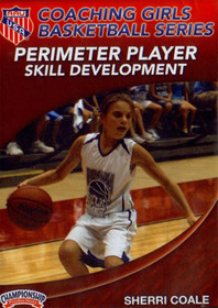 Aau Girls: Perimeter Player Skill Development by Sherri Coale Instructional Basketball Coaching Video
