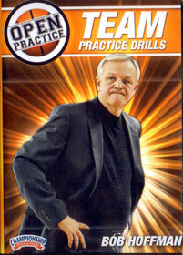 Team Practice Drills by Bob Hoffman Instructional Basketball Coaching Video