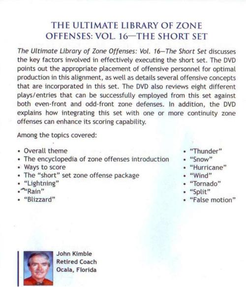 (Rental)-Zone Offense: The Short Set