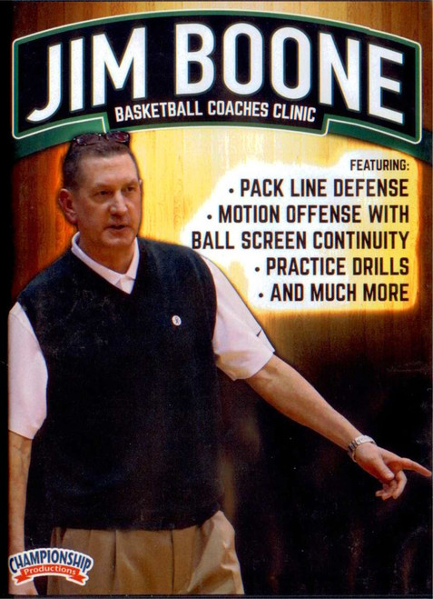Jim Boone Basketball Coaches Clinic by Jim Boone Instructional Basketball Coaching Video